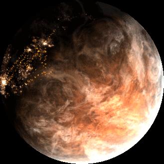 hades star planète désertique