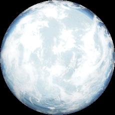 hades star planète de glace
