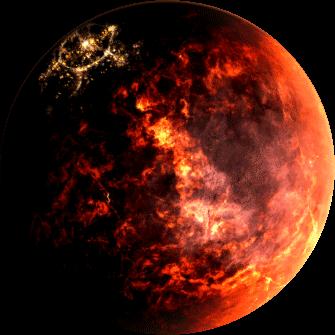 hades star planète incandescente