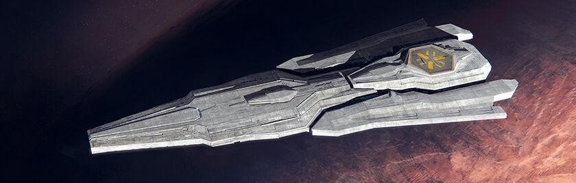 Hades Star vaisseau amiral